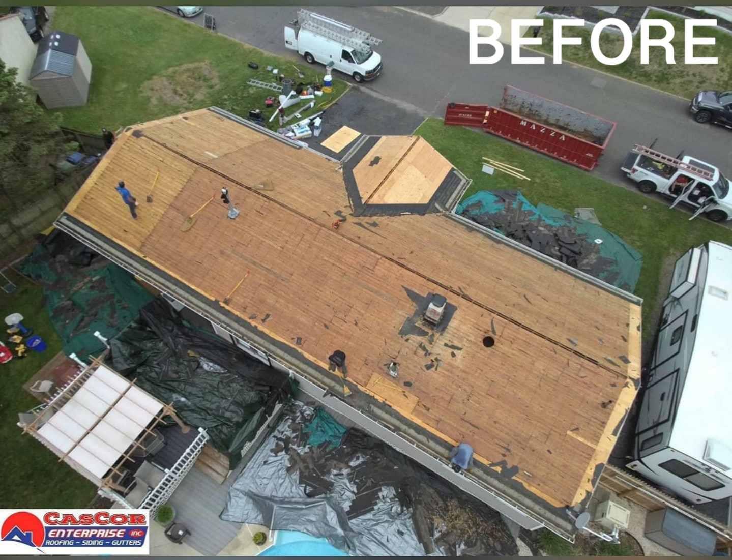 Before Roofing: Cascor Enterprise Inc